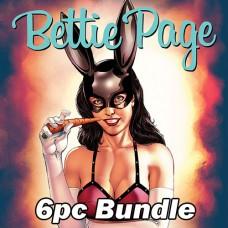BETTIE PAGE & CURSE OF THE BANSHEE #1 CVR A B C D E F BUNDLE