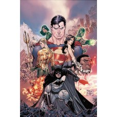 JUSTICE LEAGUE REBIRTH DLX COLL HC BOOK 01