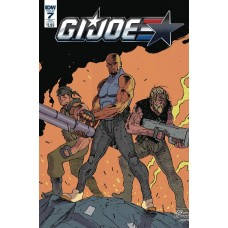 GI JOE (2016) #7 SUBSCRIPTION VARIANT A