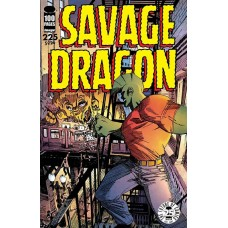 SAVAGE DRAGON #225 25TH ANNIVERSARY CVR B FOSCO (MR)