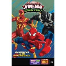 MARVEL UNIVERSE ULT SPIDER-MAN VS SINISTER SIX #10