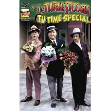 THREE STOOGES TV TIME PHOTO CVR