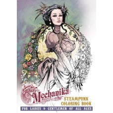 LADY MECHANIKA STEAMPUNK COLORING BOOK TP VOL 02