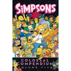 SIMPSONS COMICS COLOSSAL COMPENDIUM TP VOL 05