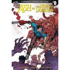 ASH VS AOD #0 CVR A BRADSHAW