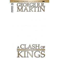 GAME OF THRONES CLASH OF KINGS #1 CVR K BLANK AUTHENTIX (MR)