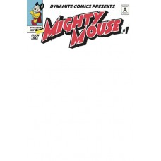 MIGHTY MOUSE #1 CVR K BLANK AUTHENTIX