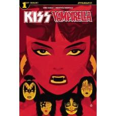 KISS VAMPIRELLA #1 (OF 5) CVR A DOE