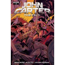 JOHN CARTER THE END #5 CVR A BROWN