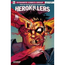 PROJECT SUPERPOWERS HERO KILLERS #2 CVR B BROWNE