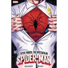 DF PETER PARKER SPECTACULAR SPIDER-MAN #1 ROMITA SR SGN