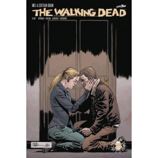 DF WALKING DEAD #167 BLOOD RED GAUDIANO SGN