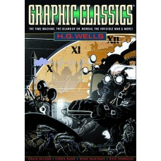 GRAPHIC CLASSICS GN VOL 03 HG WELLS 3RD ED