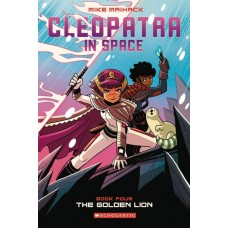 CLEOPATRA IN SPACE GN VOL 04 GOLDEN LION