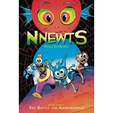 NNEWTS HC GN VOL 03 BATTLE FOR AMPHIBOPOLIS