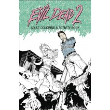 EVIL DEAD 2 ADULT COLORING ACTIVITY BOOK TP