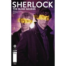 SHERLOCK BLIND BANKER #6 (OF 6) CVR B BROOKS