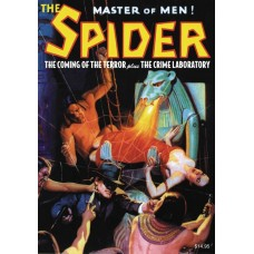 CANCELLED - SPIDER DOUBLE NOVEL #11 COMING OF TERROR & CRIME LAB