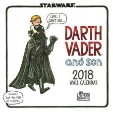 DARTH VADER & SON 2018 WALL CALENDAR