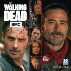 WALKING DEAD AMC 2018 16 MONTH WALL CAL
