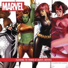 WOMEN OF MARVEL 2018 16 MONTH WALL CAL