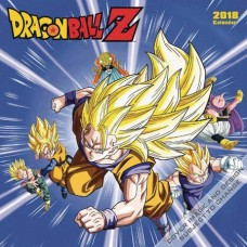 DRAGONBALL SUPER 2018 WALL CALENDAR