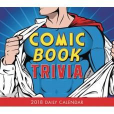 COMIC BOOK TRIVIA 2018 BOXED CALENDAR