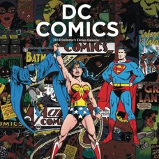 DC COMICS COLL ED 2018 CALENDAR