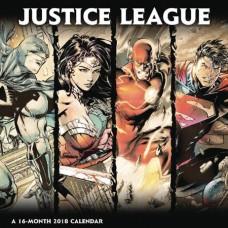 JUSTICE LEAGUE CLASSIC 2018 WALL CALENDAR
