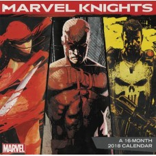 MARVEL KNIGHTS 16 MONTH 2018 WALL CALENDAR