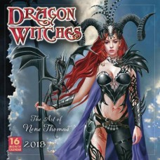 DRAGON WITCHES ART OF NENE THOMAS 2018 WALL CAL (MR)