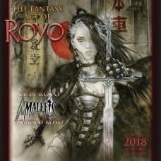 FANTASY ART OF LUIS ROYO 2018 WALL CALENDAR (MR)