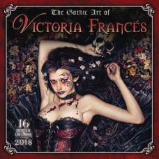 GOTHIC ART OF VICTORIA FRANCES 2018 WALL CAL (MR)