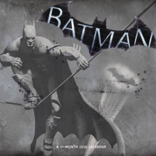 BATMAN 16 MONTH 2018 WALL CAL