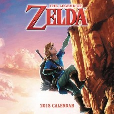 LEGEND OF ZELDA 2018 16 MONTH WALL CAL