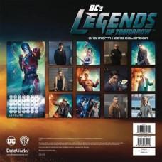 DC LEGENDS OF TOMORROW 2018 WALL CALENDAR