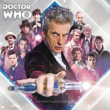 DOCTOR WHO 2018 16 MONTH WALL CALENDAR