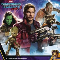 GUARDIANS OF THE GALAXY 2 2018 WALL CAL