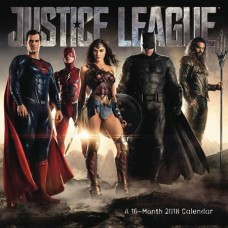 JUSTICE LEAGUE MOVIE 2018 WALL CAL