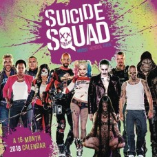 SUICIDE SQUAD 2018 WALL CALENDAR