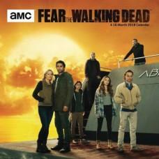 FEAR THE WALKING DEAD 2018 WALL CALENDAR