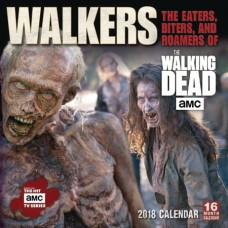 WALKING DEAD WALKERS EATERS BITERS AMC 2018 WALL CAL