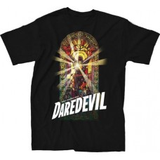 MARVEL DAREDEVIL #15 BLACK T-S LG