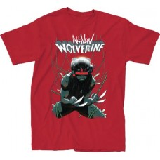 MARVEL ALL NEW WOLVERINE #16 RED T-S LG