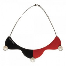 DC COMICS HARLEY QUINN COLLAR CHOKER NECKLACE