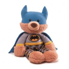 GUND DC BATMAN BEDTIME PAL TEDDY BEAR 15IN PLUSH