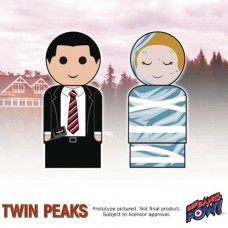 TWIN PEAKS COOPER-LAURA PALMER PIN MATE SET (Net)