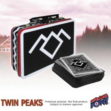 TWIN PEAKS MINI TIN TOTE W-PLAYING CARDS TIN TOTE (Net)