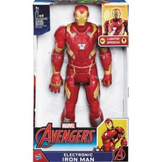AVENGERS IRON MAN 12IN ELECTRONIC AF CS (Net)
