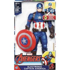 AVENGERS CAPTAIN AMERICA 12IN ELECTRONIC AF CS (Net)